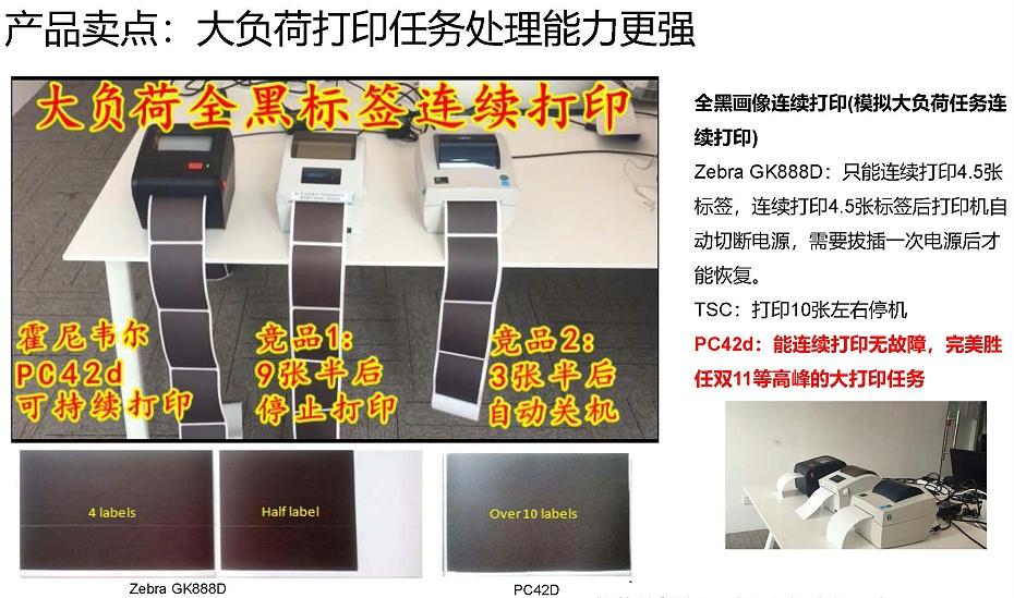 霍尼韦尔PC42D打印机产品介绍9