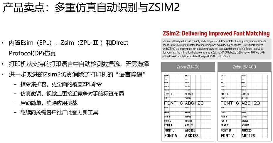 霍尼韦尔PC42D打印机产品介绍c