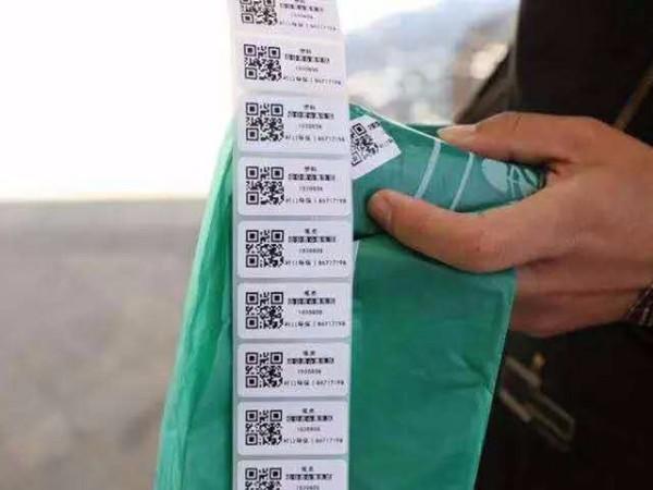 垃圾分类二维码标签
