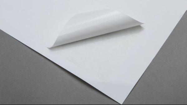 书写纸不干胶标签