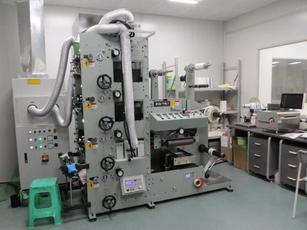 砹石标签生产机器
