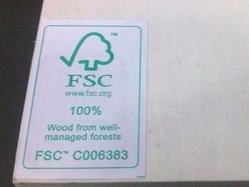 FSC不干胶标签