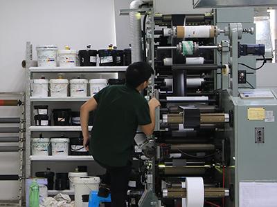 高质量不干胶标签的生产过程视频--砹石彩色不干胶标签的印制及检测